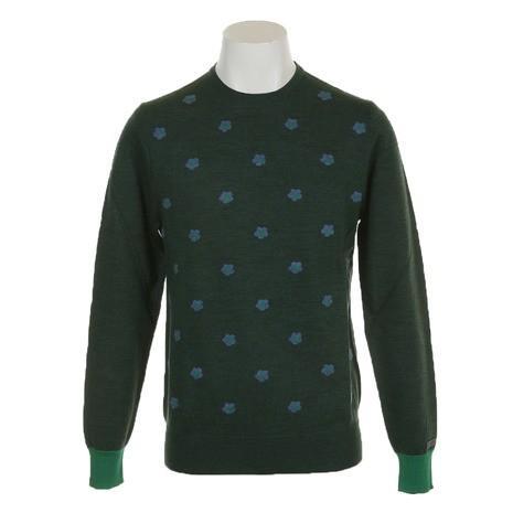 ディマッティア(DIMATTIA) ゴルフウェア メンズ 長袖セーター Daisy Round 6M1003 GRN (Men's)