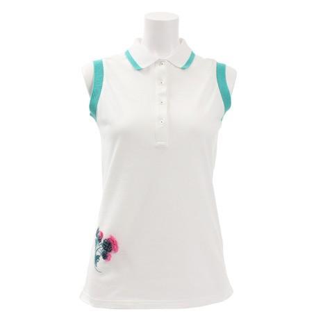 セントアンドリュース(ST.ANDREWS) ゴルフウェア レディース 鹿の子ノースリーブポロシャツ 043-9160650-030 (Lady's)