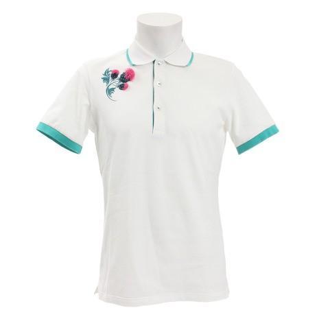 セントアンドリュース(ST.ANDREWS) ゴルフウェア メンズ 鹿の子ポロシャツ 042-9160651-030 (Men's)