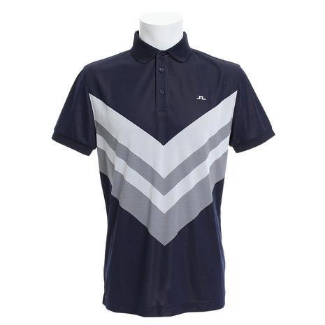 Jリンドバーグ(J.LINDEBERG) ゴルフウェア ACE REG FIT TX JAQ 半袖ポロシャツ 071-29351-098 (Men's)