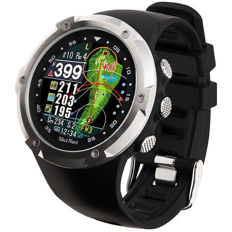 ショットナビ(Shot Navi) ゴルフナビ 腕時計タイプ ショットナビ W1 Evolve 距離測定器 GPS (メンズ、レディース)