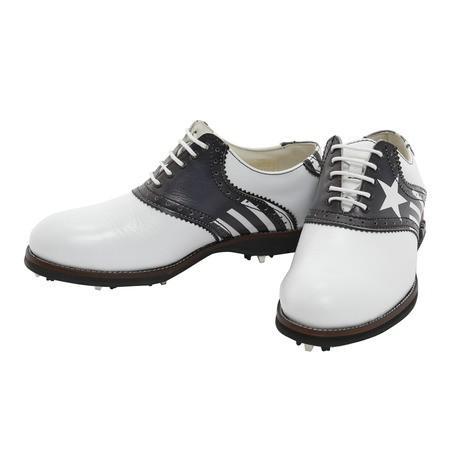 ラムダ(LAMBDA) ゴルフシューズ LAMBDA(ラムダ) ゴルフシューズ IMPERIA-BOTAFOGO ホワイト×ブラック (Lady's)