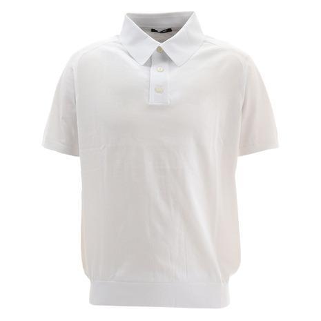 サマス(SAMAS) ゴルフウェア メンズ 半袖ポロシャツ POLO S/slv GNC-U01 WHT (Men's)