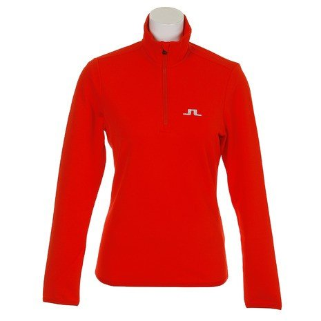 Jリンドバーグ(J.LINDEBERG) ゴルフウェア レディース W Wrangell Qtr Zip M 074-28912-063 (Lady's)