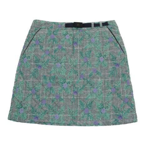 CLAIR+PLUS ゴルフウェア レディース CPチェック中綿スカート 92-7182040-81 (Lady's)