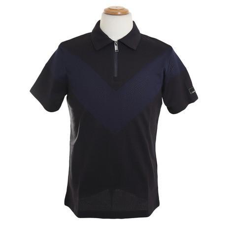 ロックデュード(ROCK DUDE) ゴルフウェア メンズ Vメッシュポロ 11-145303-069 (Men's)