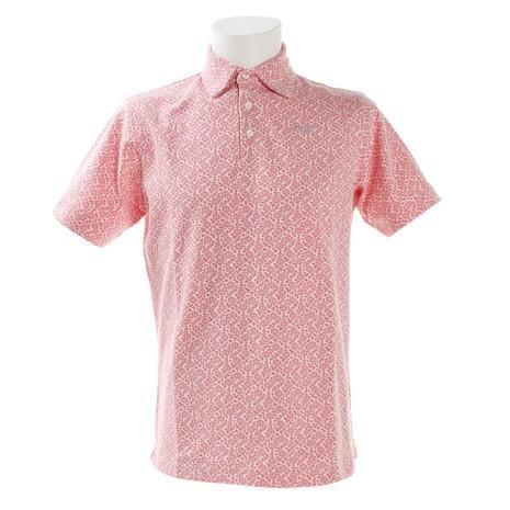 モコ(MOCO) ゴルフウェア メンズ MCフラワ-JQ半袖シャツ 21-2191241-73 (Men's)