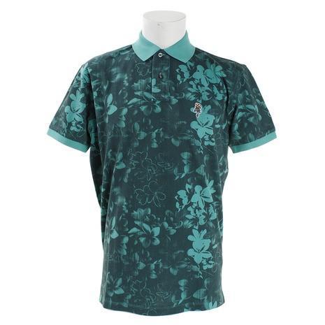 ジェッカーソン(Jackson) ゴルフウェア メンズ フラワーポロシャツ J030035 GRN (Men's)
