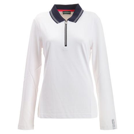ゴルフィーノ(GOLFINO) Revolution Zip ポロシャツ 5330525-100 (Lady's)