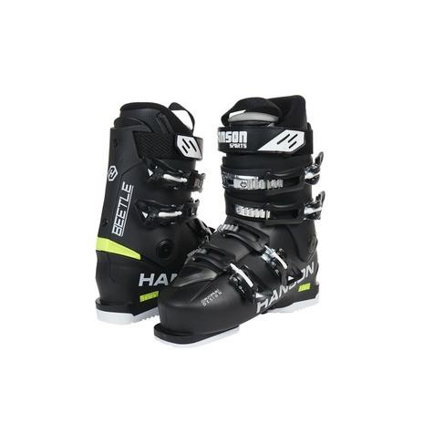 ハンソン(HANSON) 2017-2018 BEETLE 302HN8HJ9304 BLK スキーブーツ メンズ (Men's)