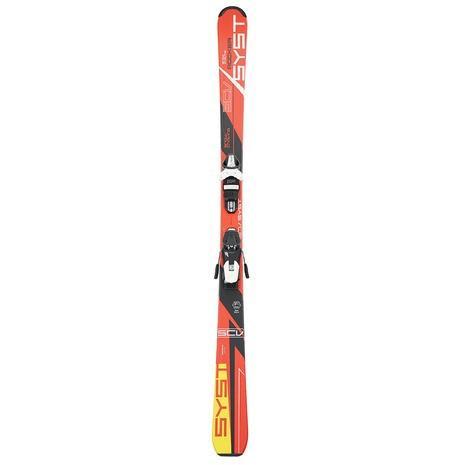 スノーカービング(SNOW CARVING) スキー板ビンディング付属 SCV-SYST 301SC8AO9487 赤 + Tyrolia SLR 9.0 (Men's)