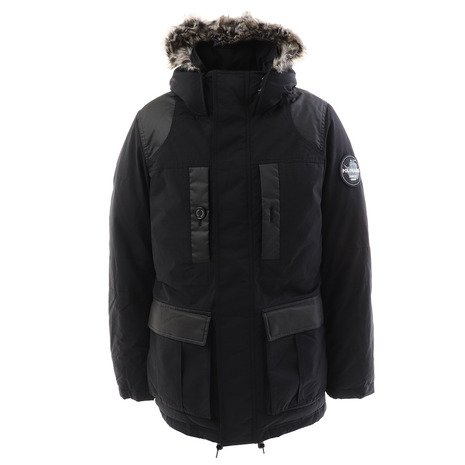 ポールワーズ(POLEWARDS) GORKHA MOUNTAIN PARKA 6090 BLK (Men's)