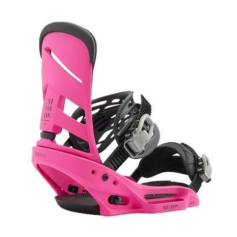 バートン(BURTON) ボードビンディング ミッション EST 10558105650 ピンク スノーボード (Men's、Lady's)