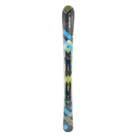エラン(ELAN) スキー板 ビンディング付 MAXX BK + BL Q-SHIFT EL4.5AC (Jr)