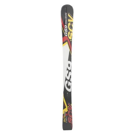 スノーカービング(SNOW CARVING) ジュニア スキー板 ビンディング別売 18 SCV GS9 KID BLK +309SC8AO9490BK (Jr)