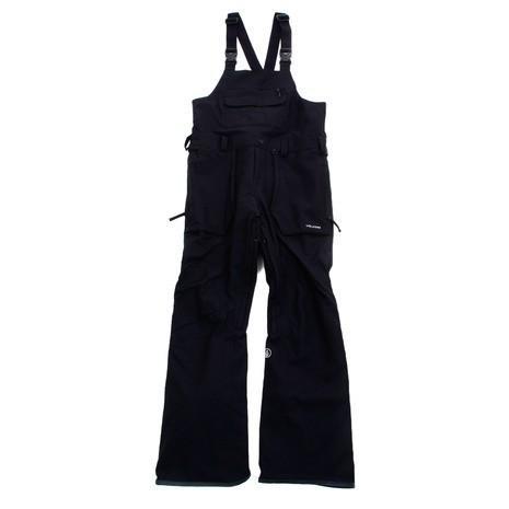 ボルコム(Volcom) ロアン ビブオーバーオールパンツ19 G1351909 BLK スノーボードウェア パンツ メンズ (Men's)