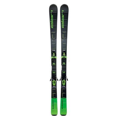 エラン(ELAN) スキー板 ビンディング付 ELEMENT 緑 LIGHT SHIFT+EL 10.0 SHIFT (Men's)