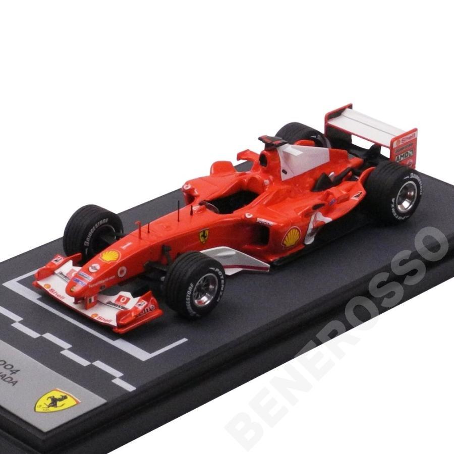 BBR MODELS 1/43スケール フェラーリ F2004 M.シューマッハ カナダGP BG265