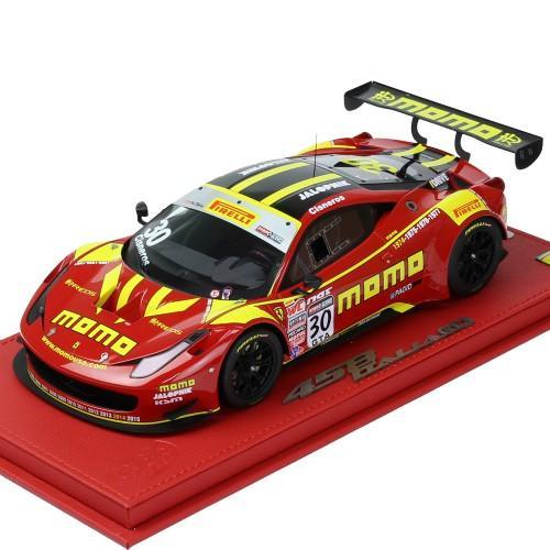 BBR MODELS 1/18スケール フェラーリ 458 GT3 Pirelli World Challenge 2015 MOMO P18118V