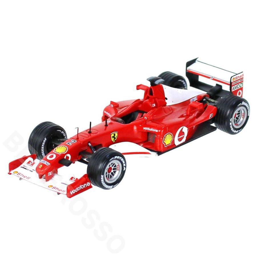 ixo 1/43スケール フェラーリ F2002 #2 R.バリチェロ Winner 2002 ヨーロッパGP SF20-02
