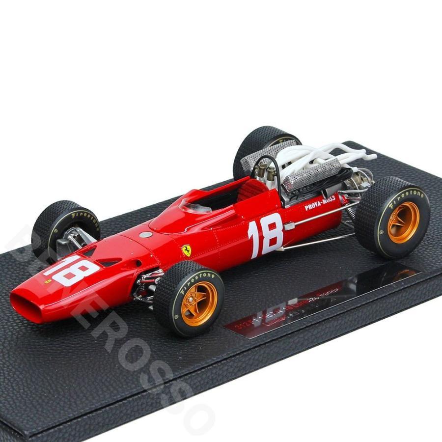 TOPMARQUES 1/18スケール フェラーリ 312F1 1967 #18 L.バンディーニ ...