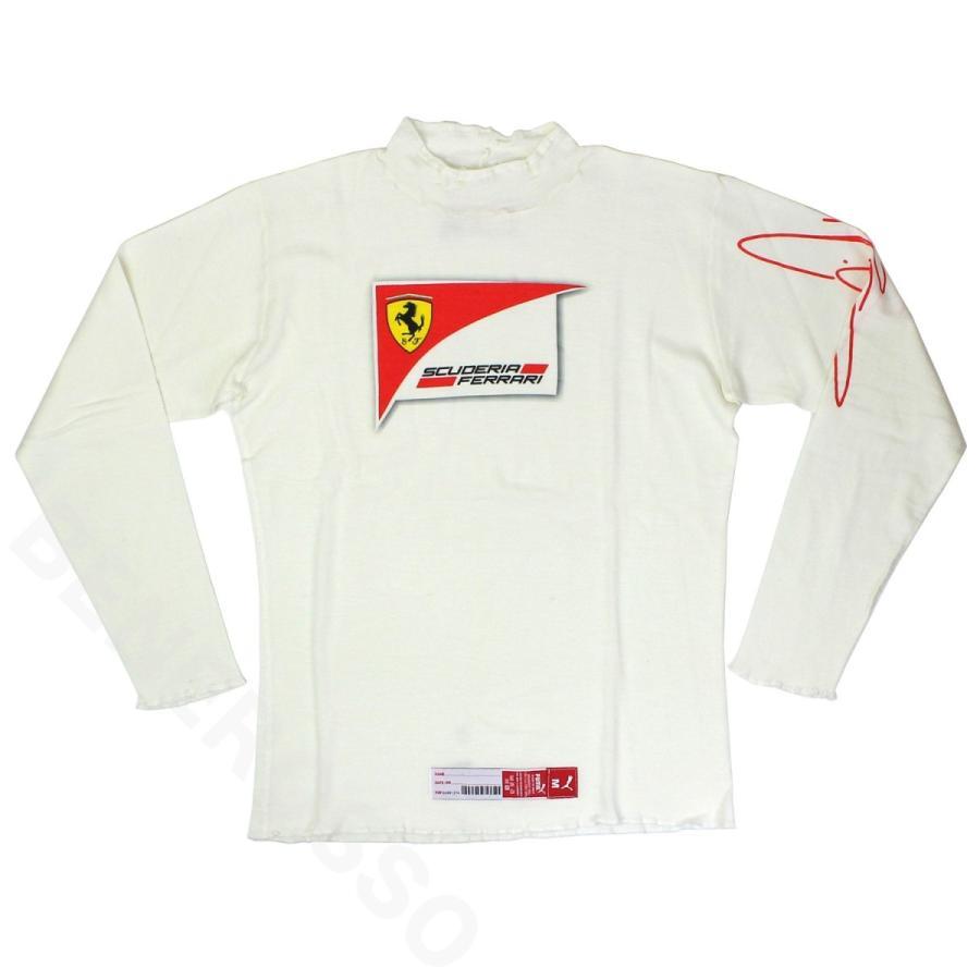 フェラーリ 2014 ドライバー支給用 ノメックス アンダーシャツ K.ライコネン 使用  (返品·交換対象外)