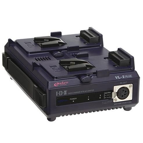 IDX/アイディエクス VL-2PLUS 2チャンネル順次急速充電器(ACアダプター機能付)