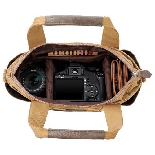 ハクバ Chululu チュルル カメラトート ベージュ SCH-CTTBE カメラバッグ カメラケース 通勤 通学 写真|videoallcam|03