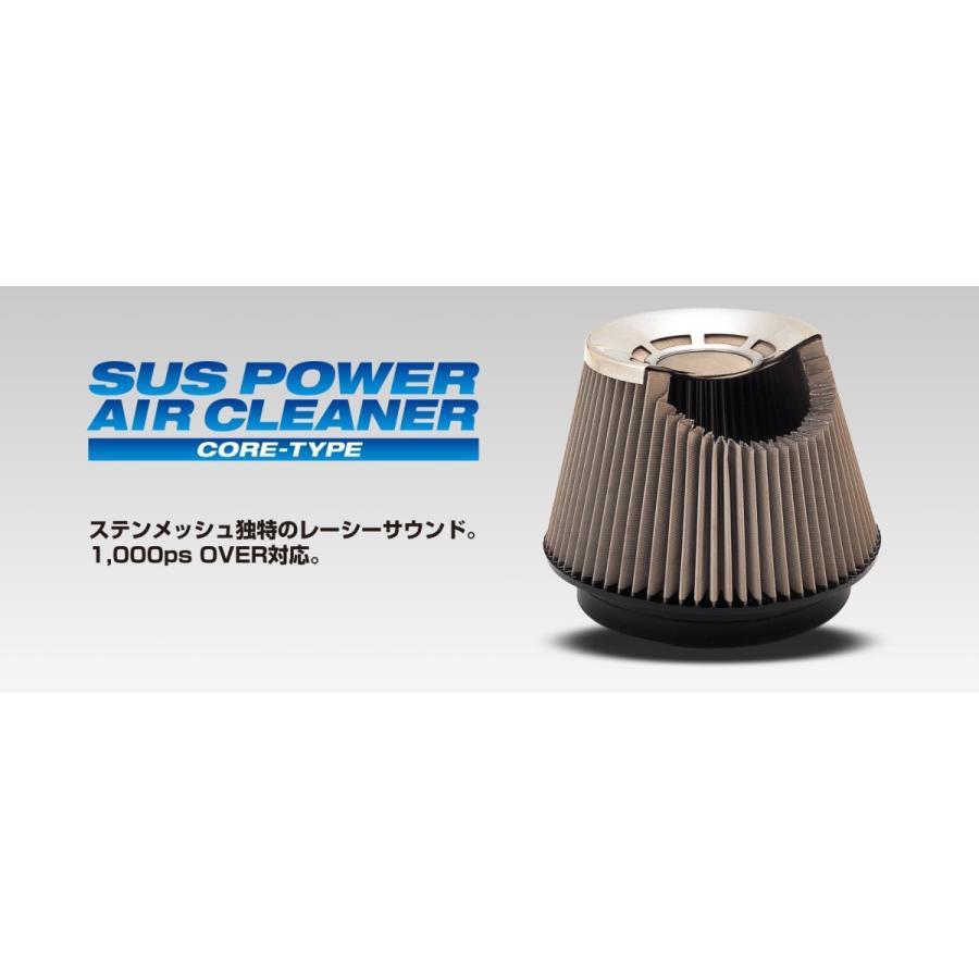 【BLITZ/ブリッツ】 SUS POWER AIR CLEANER (サスパワーエアクリーナー) スズキ アルトターボRS/アルトワークス HA36S [26233]|vigoras