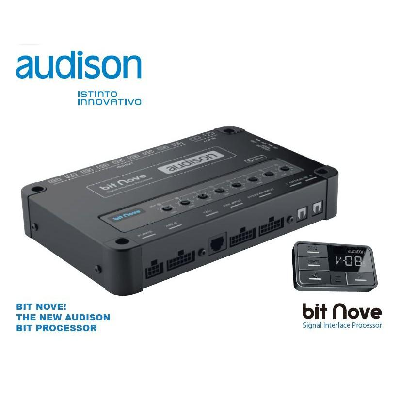 【audison/オーディソン】シグナルプロセッサー bit Nove (ビット·ノーヴェ) DRC