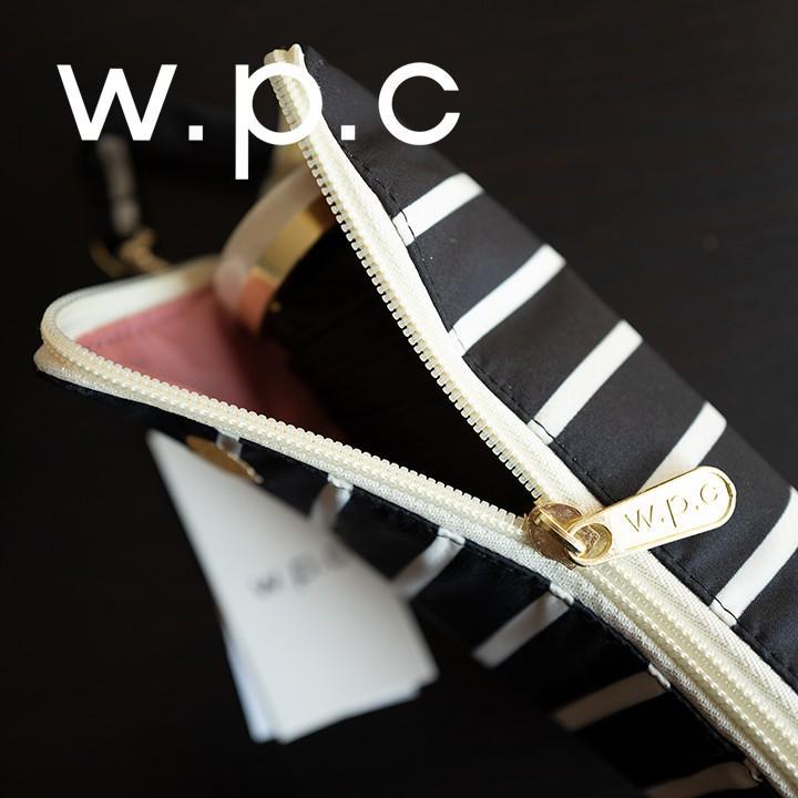 Wpc 折りたたみ傘 軽量 レディース傘 晴雨兼用傘 ハート&ボーダー ミニ ジッパーケース heart & border gold mini Wpc ワールドパーティー 951-128 villagestore 05