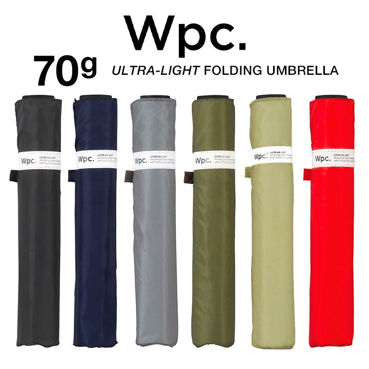 Wpc 折りたたみ傘 超軽量70g レディース メンズ 男女兼用傘 スーパーエアライト 50cm Wpc Super Air-light Umbrella ワールドパーティー MSK50 villagestore