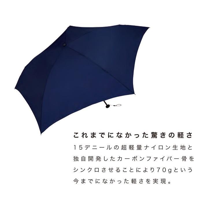Wpc 折りたたみ傘 超軽量70g レディース メンズ 男女兼用傘 スーパーエアライト 50cm Wpc Super Air-light Umbrella ワールドパーティー MSK50 villagestore 03