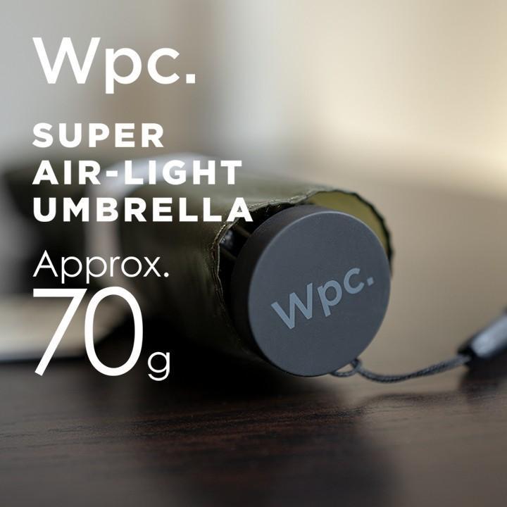 Wpc 折りたたみ傘 超軽量70g レディース メンズ 男女兼用傘 スーパーエアライト 50cm Wpc Super Air-light Umbrella ワールドパーティー MSK50 villagestore 04