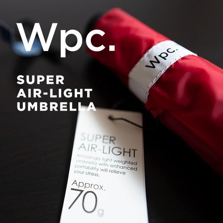 Wpc 折りたたみ傘 超軽量70g レディース メンズ 男女兼用傘 スーパーエアライト 50cm Wpc Super Air-light Umbrella ワールドパーティー MSK50 villagestore 05