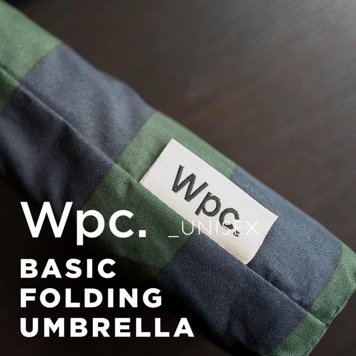 Wpc 折りたたみ傘 軽量 大きい58cm レディース メンズ 男女兼用傘 晴雨兼用傘 ボーダー ストライプ柄 BASIC FOLDING UMBRELLA Wpc ワールドパーティー MSM villagestore 04