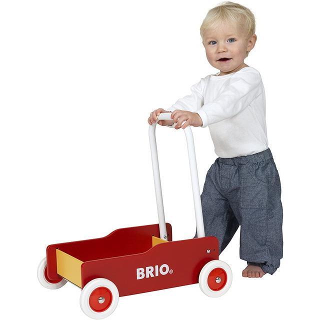 ブリオ 手押し車 黒31351 白赤31377 赤黄31350  BRIO つかまり立ち 赤ちゃん おもちゃ 歩行練習 出産祝い インテリア|villervalla|08