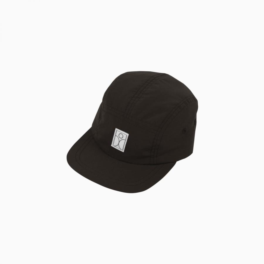 SCHMECK 5 panel cap BLACK 黒 キャップ 帽子|villervalla|02