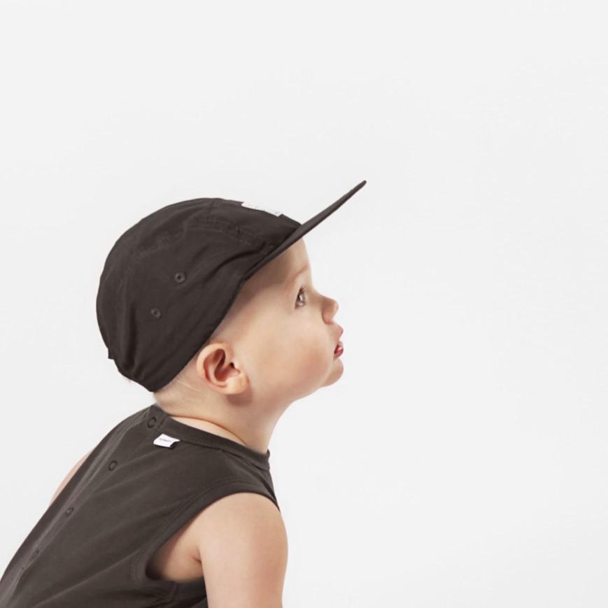 SCHMECK 5 panel cap BLACK 黒 キャップ 帽子|villervalla|03