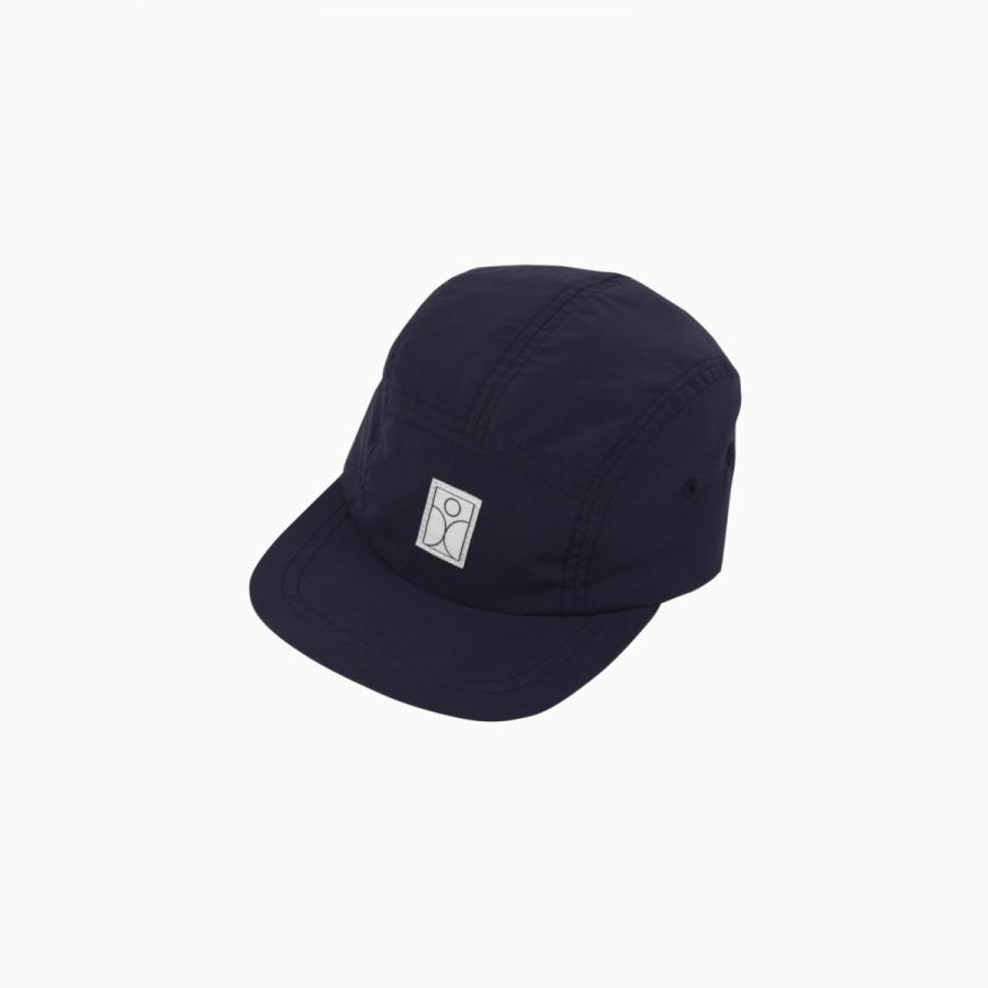 SCHMECK 5 panel cap NAVY 紺 キャップ 帽子|villervalla|02