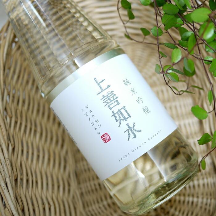 上善如水 純米吟醸 720ml/白瀧酒造 vin-naturely