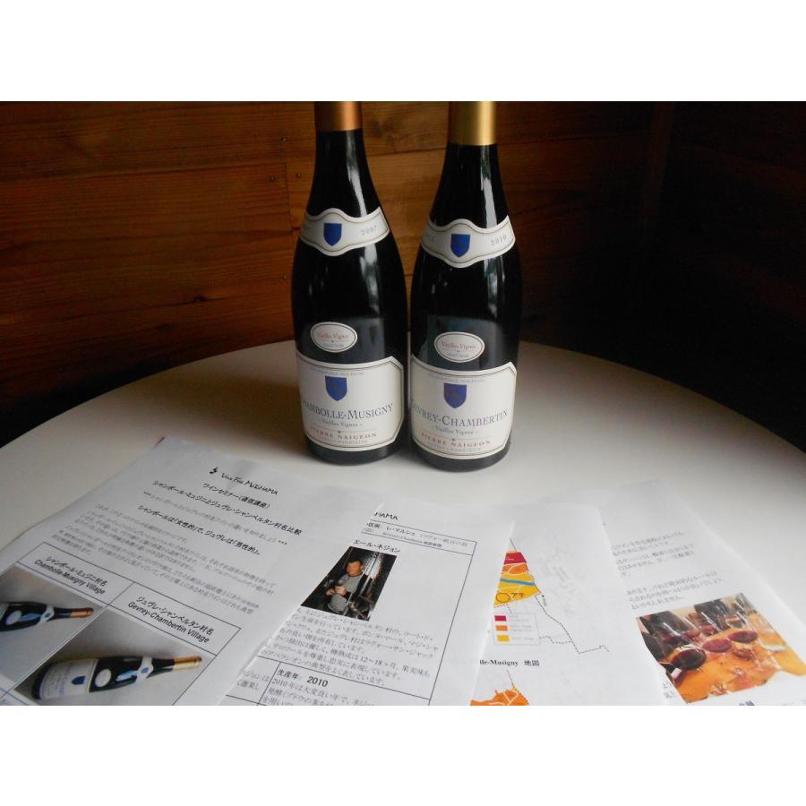 ワインセミナー通信1: シャンボール・ミュジニとジュヴレ・シャンベルタン村名比較 vinsfinsmotohama 04