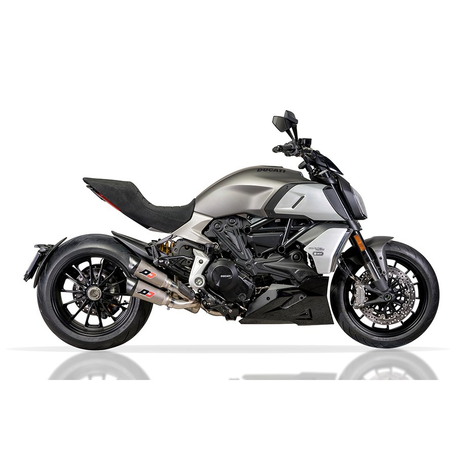 【楽天市場】バイク マフラー スリップオン QDエキゾースト