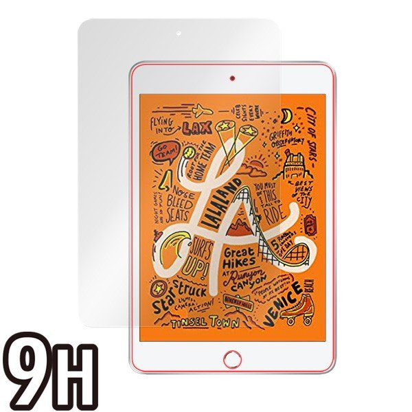 iPad mini (第5世代) 用 保護 フィルム OverLay 9H Brilliant for iPad mini 第5世代 9H 高硬度で透明感が美しい高光沢タイプ iPad mini 5 2019 visavis 03