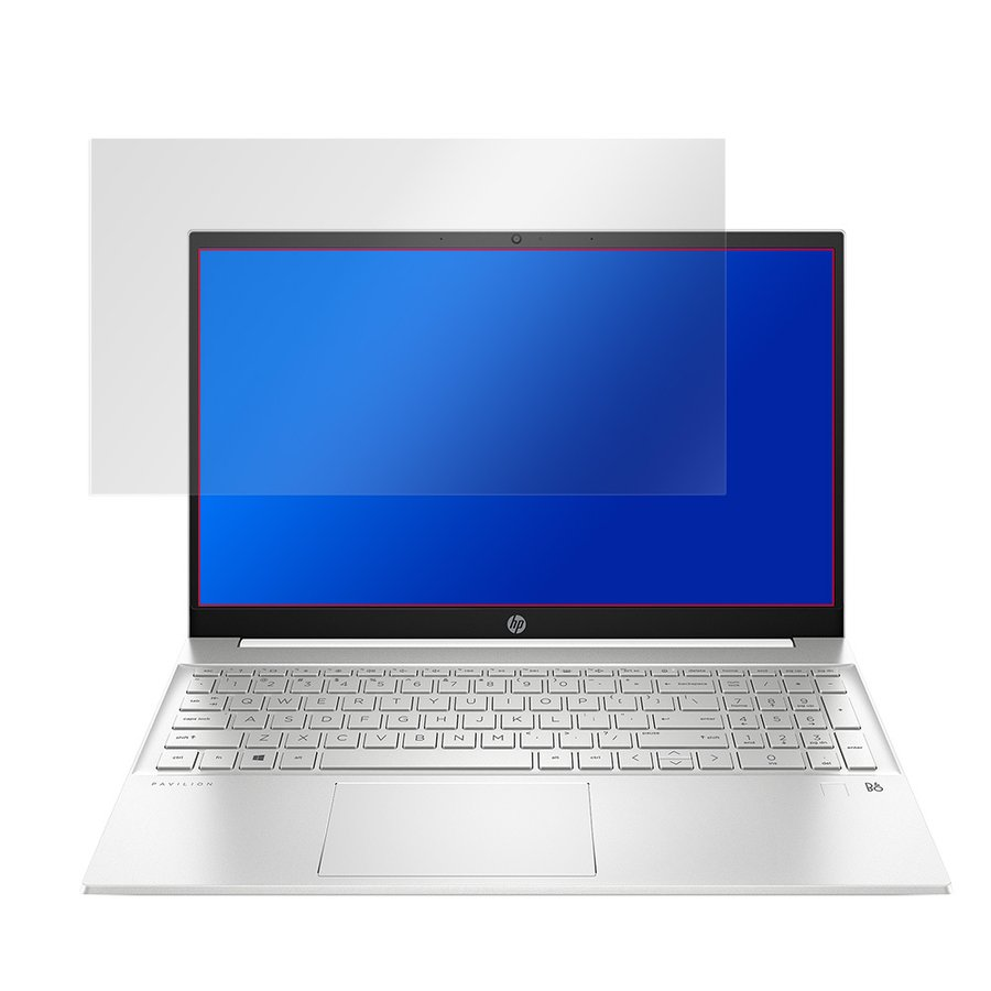 HP Pavilion 15-eg 15-eh 保護 フィルム OverLay Plus for HP Pavilion 15-eg0000 / 15-eh0000 シリーズ 液晶保護 アンチグレア 低反射 非光沢 防指紋 HP visavis 03