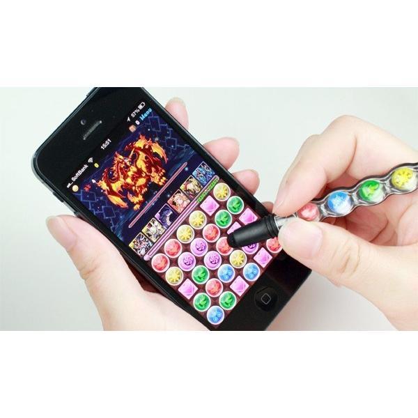 パズドラ!タッチペン Su-Pen POP! B201S-PPA iPhone 6 iPhone 6 Plus スマホ タッチペン|visavis|02