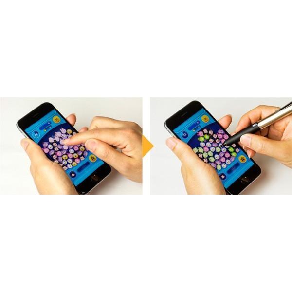 URBAN UTILITY ペン先2mm 感度調節機能付き 自己静電発生式タッチペン「スラッペン」 visavis 05