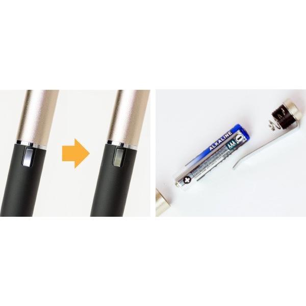 URBAN UTILITY ペン先2mm 感度調節機能付き 自己静電発生式タッチペン「スラッペン」 visavis 06