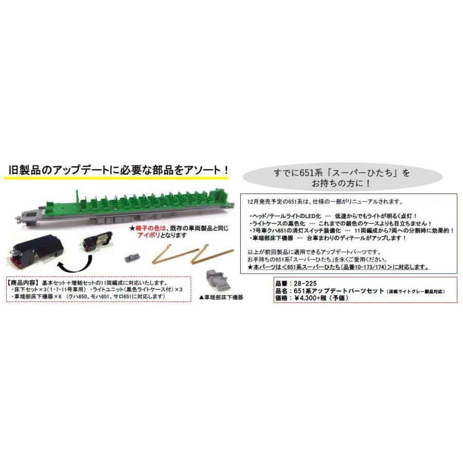 651系アップデートパーツセット(床板ライトグレー製品対応)|vista2nd-shop