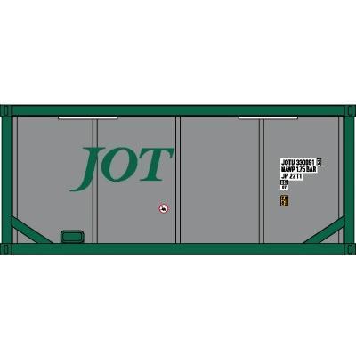 20ftタンクコンテナ「フレームタイプ」 (JOTグリーン シルバータンク)|vista2nd-shop